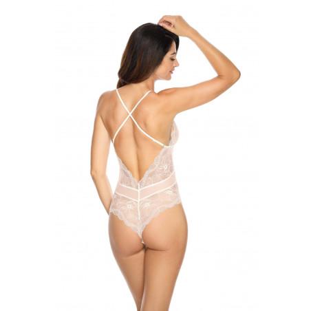 Body blanc Charlize Par Gorteks lingerie