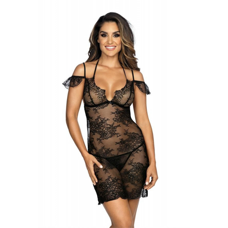 La nuisette sexy noir v-9509 - Axami - lingerie sexy