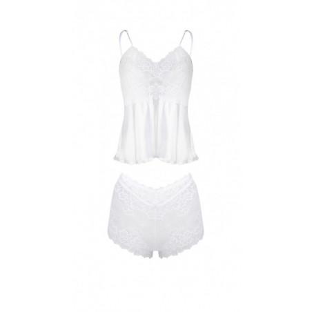 L`ensemble sexy blanc Alexandra - DKaren - lingerie sexy