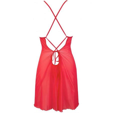 La nuisette sexy rouge V-9559 - AXAMI - nuisette femme