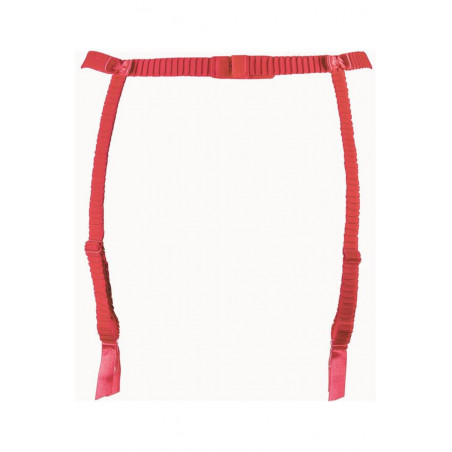 String rouge V-9558 - Axami - lingerie sexy - string brésilien