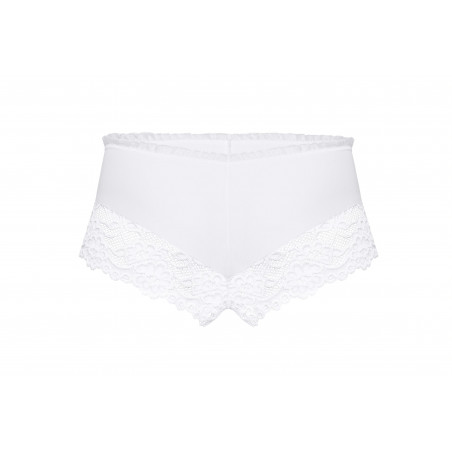 Shorty blanc Sisi de chez ROZA lingerie