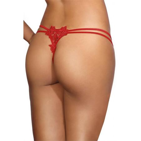 mini string rouge V-9658 - Axami
