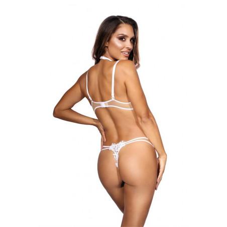 soutien-gorge seins nus blanc V-9641 - Axami