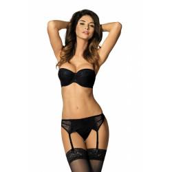 Yvette MS mini-string noir de chez Gorteks