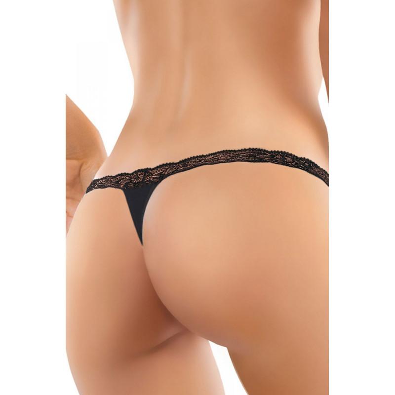String noir modèle Axella de chez Ewenna