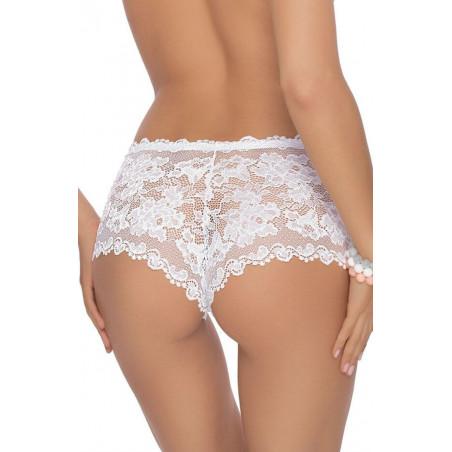 Shorty en dentelle blanche Olimpia - ROZA lingerie - lingerie féminine