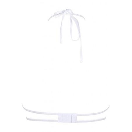 Le soutien gorge blanc sexy V-8851 par Axami Lingerie