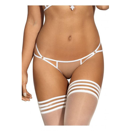 Le string blanc sexy V-8858 par Axami Lingerie
