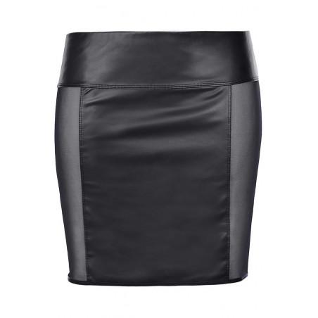 La jupe sexy noir V-9179 par Axamio