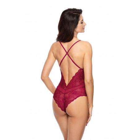 Body bordeaux Charlize Par Gorteks lingerie
