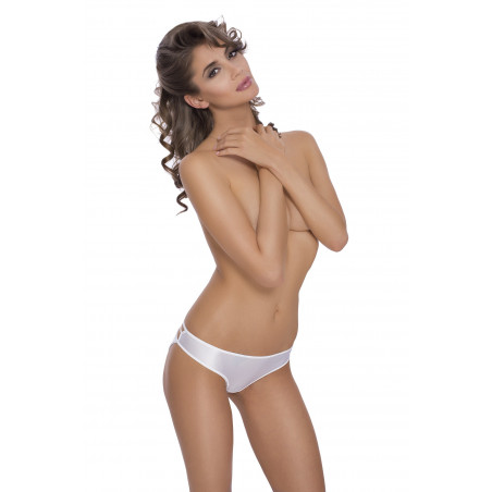 culotte blanche Mimi de chez ROZA lingerie