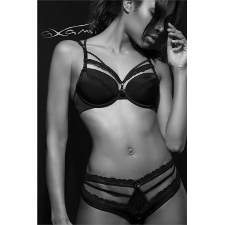 La culotte noire V-8203 par Axami lingerie