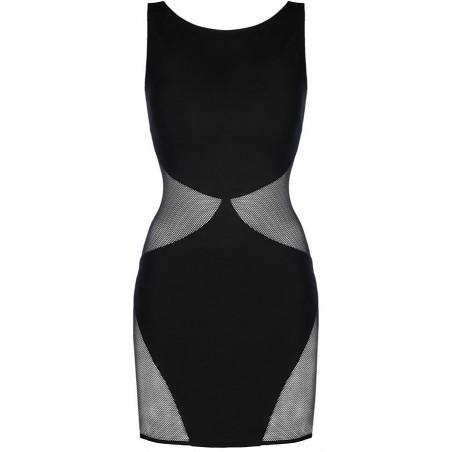 La robe noire sexy V-9279 par Axami Lingerie
