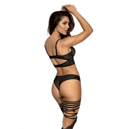 Le demi-corset push-up V-9031 - Axai Lingerie - lingerie sexy