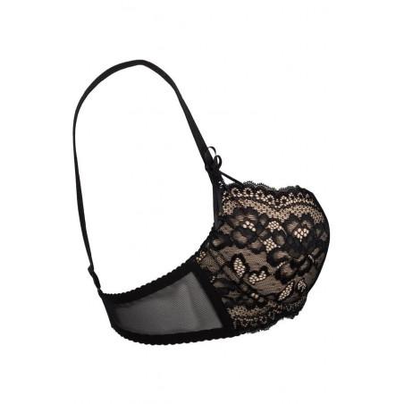 Le soutien-gorge noir Opium V-6611 par Axami lingerie